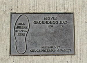 Prlaque_of_Movie(Groundhog_day)_Woodstock,_IL